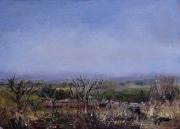 View over Wrinehill Mill Farm