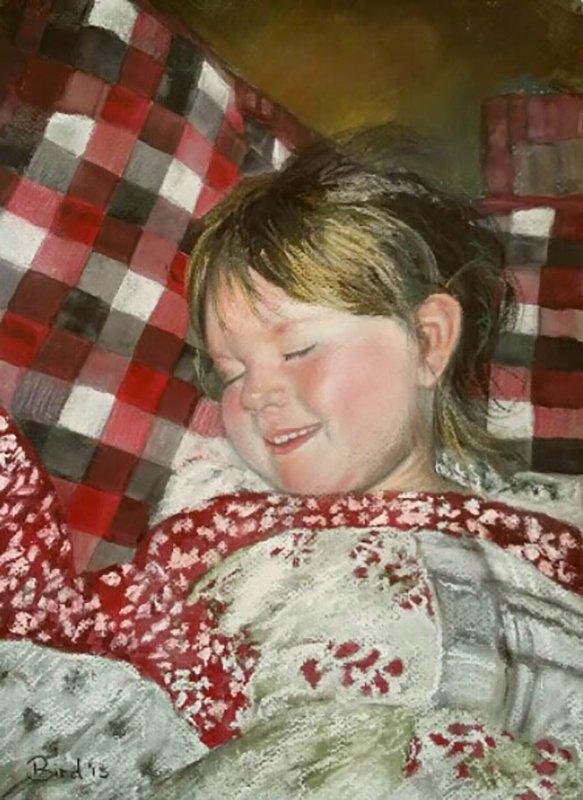 Ella Sleeping - SOLD