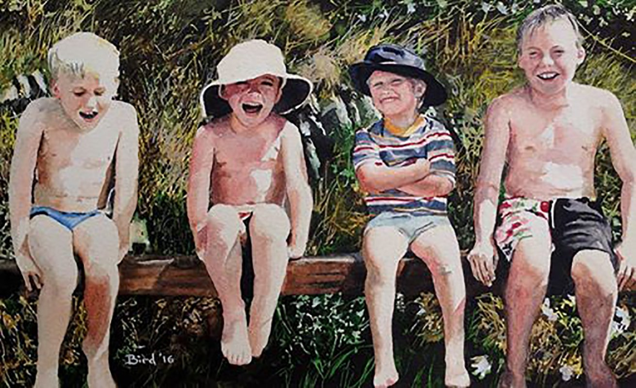 Four Boys - SOLD