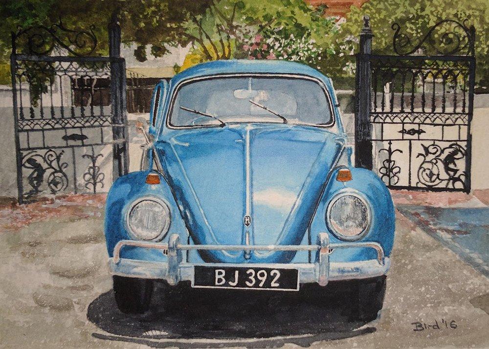 """Watercolour 5""""x7"""" £50"""