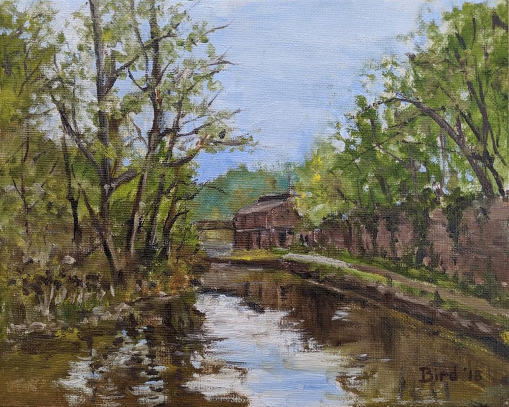 The Canal At Froghall